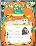 Homework Helper Handwriting Practice, Grade 1