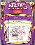 Homework Helper Mazes, Puzzles, And Games, Grade 2