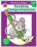 Homework Helper Reading Comprehension, Grade 3