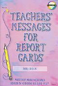 Teacher's Messages for Report Cards