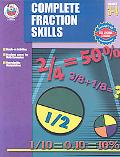 Complete Fractions Skills Grades 3-4