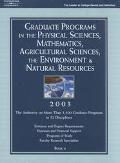 Peterson's Graduate Programs in the Physical Sciences, Mathematics, Agricultural Sciences, t...