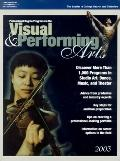 Professional Degree Programs in the Visual & Performing Arts 2003
