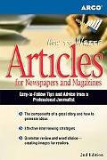 How to Write Articles for Newspapers and Magazines