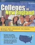 Colleges in New England 2003
