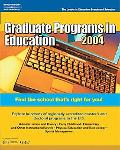 Graduate Programs in Education 2004