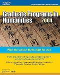 Graduate Programs in Humanities 2004