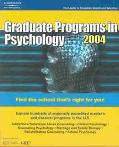 Graduate Programs in Psychology 2004