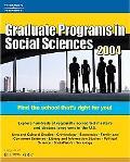 Graduate Programs in Social Sciences 2004