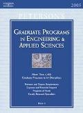 Graduate Programs in Engineering & Applied Sciences Book 5