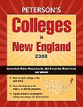 Peterson's Colleges in New England 2008
