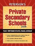 Private Secondary Schools 2009