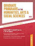 Graduate Programs in the Humanities, Arts & Social Sciences 2009