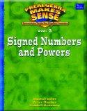 PRE-ALGEBRA MAKES SENSE, BOOK 2/SIGNED NUMBERS AND POWERS, STUDENT      EDITION (Prealgebra ...