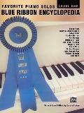 Favorite Piano Solos Blue Ribbon Encyclopedia Level One