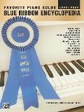Favorite Piano Solos Blue Ribbon Encyclopedia Level Four