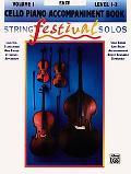 String Festival Solos: Cello Piano Accompaniment Book, Vol. 1