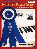 Favorite Piano Duets Level 2
