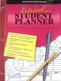 Notebook Student Planner