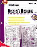 Webster's Thesaurus Grades 4-8