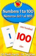 Numbers 1 to 100/numeros Del 1 Al 100 Flash Cards