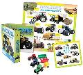 Tractors and Farm Machines Vehicle Play Set