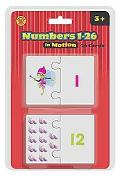 Numbers in Motion Puzzle Cards