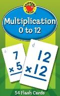 Multiplication 0 to 12