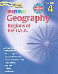 Spectrum Geography, Grade 4 Regions of the U.s.a.