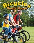 Bicycles: Pedal Power (Vehicles on the Move)