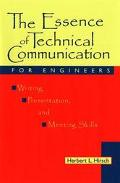 ESSENCE OF TECHNICAL COMMUNICATION FOR ENGINEERS (P)
