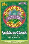 Noah's Park Children's Church Snacks and Games: Green Edition