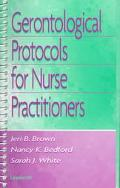 Gerontological Protocols for Nurse Practitioners