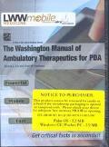 Washington Manual of Ambulatory Therapeutics for Pdas