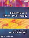 Foundations of Clinical Drug Therapy