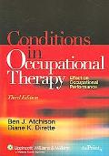 Conditions in Occupational Therapy Effect on Occuupational Performance