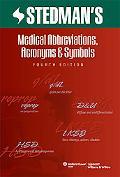 Medical Abbreviations, Acronyms and Symbols