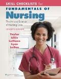 Skill Checklists for Fundamentals of Nursing: The Art and Science of Nursing Care