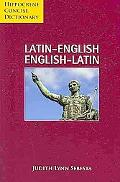 Latin-English/English-Latin Concise Dictionary