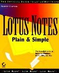 Lotus Notes Plain and Simple