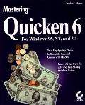 Mastering: Quicken 6 for Windows 95, NT, and 3.1 - Stephen L. Nelson - Paperback