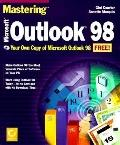 Mastering Microsoft Outlook 98 - Gini Courter - Paperback