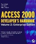 Access 2000 Developer's Handbook Enterprise