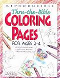 Thru-The-Bible Coloring Pages for Ages 2-4