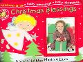Christmas Blessings Baby's Holiday Photo Album