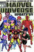 Essential Official Handbook of the Marvel Universe 1 Update '89