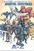 All-New Official Handbook of the Marvel Universe a to Z Volume 1 Premiere HC