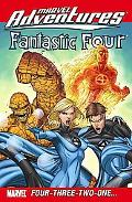 Marvel Adventures Fantastic Four: Four-Three-Two-One...Digest