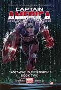 Captain America Volume 2 : Castaway in Dimension Z Book 2 (Marvel Now)