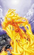 Human Torch by Karl Kesel and Skottie Young : The Complete Collection